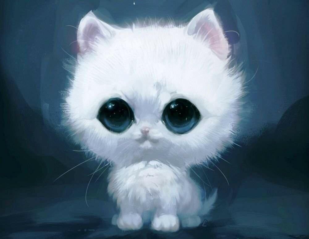 Котята мультяшки красивые картинки