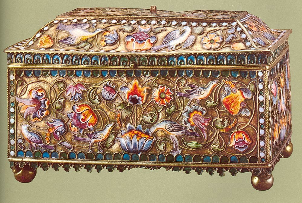 картинки шкатулок ларцов из коллекции музеев качестве рабочих материалов