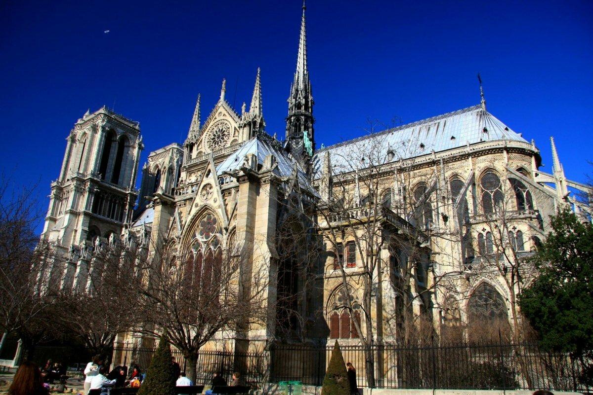 фотографа париж соборы в картинках оставил потомкам