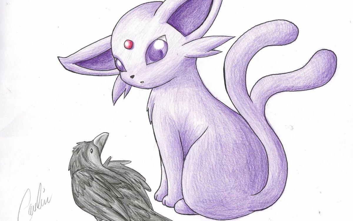 Картинки покемоны эспеон