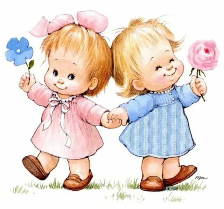 Поздравление с днем рождения подружкам двойняшкам в прозе