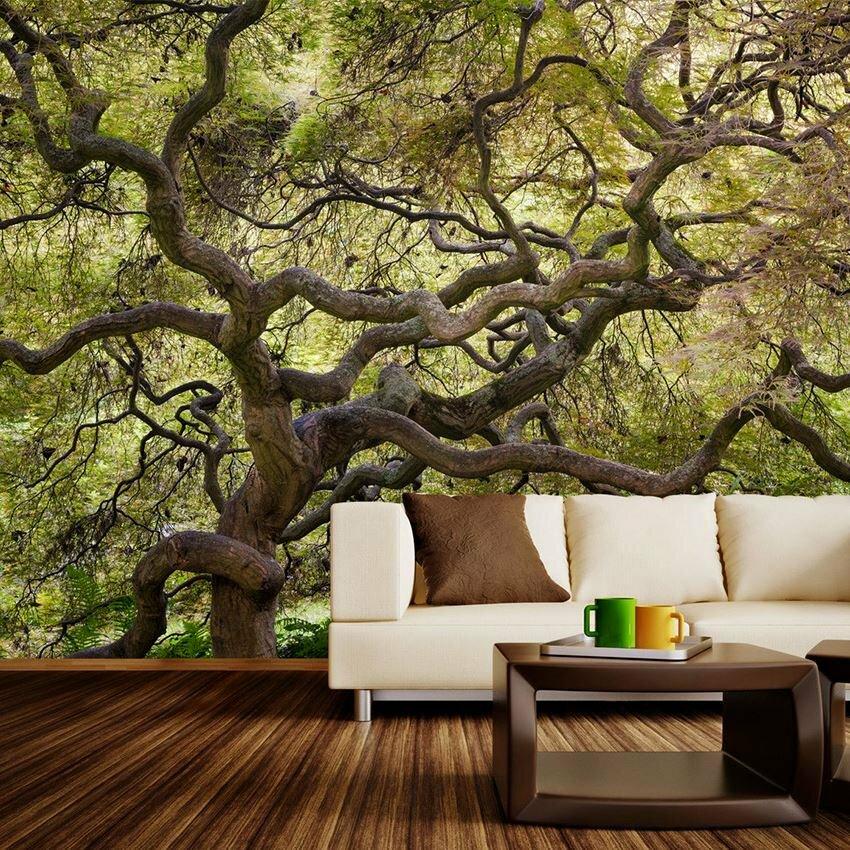 деревья в интерьере картинки полной степени передает