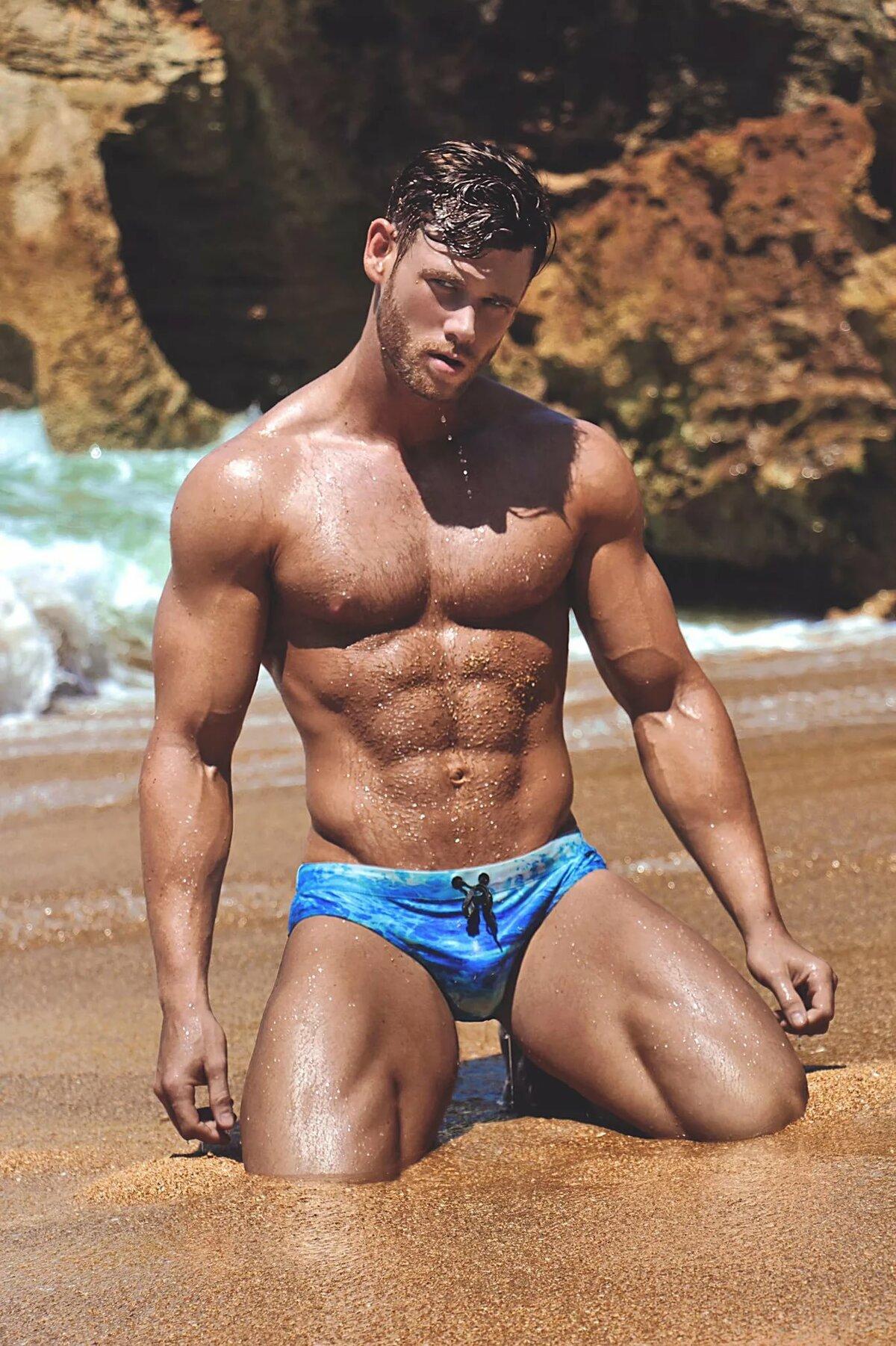 Bikini hunk