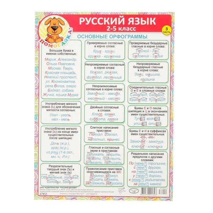орфограммы по русскому в картинках