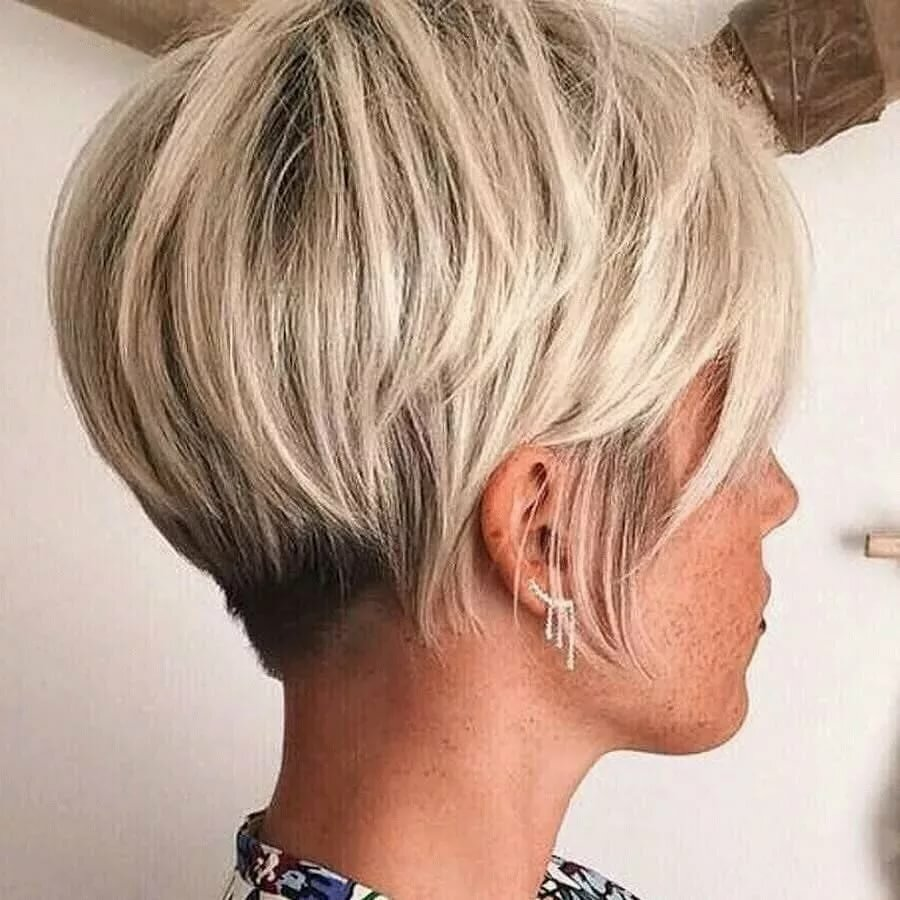 полноценной женская стрижка боб на короткие волосы фото хаски получил