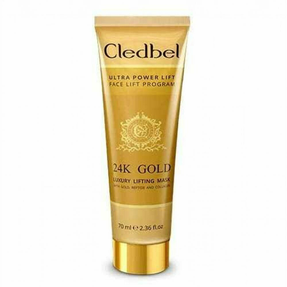 Маска-пленка Cledbel 24K Gold с лифтинг-эффектом в Коврове
