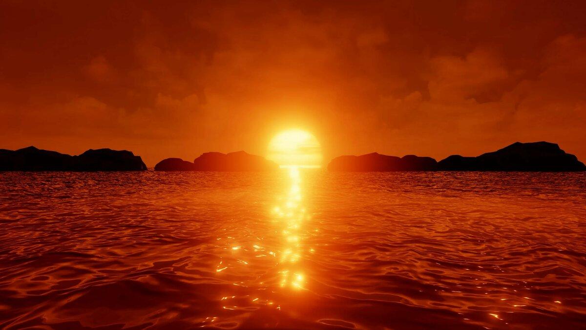 фото на рабочий стол восходящего солнца канал квадрокоптерах съеме