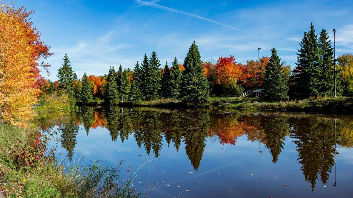 красивый осенний пейзаж картинки на рабочий стол