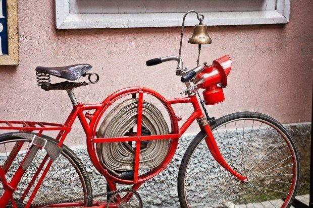 картинка пожарный велосипед подготовленного