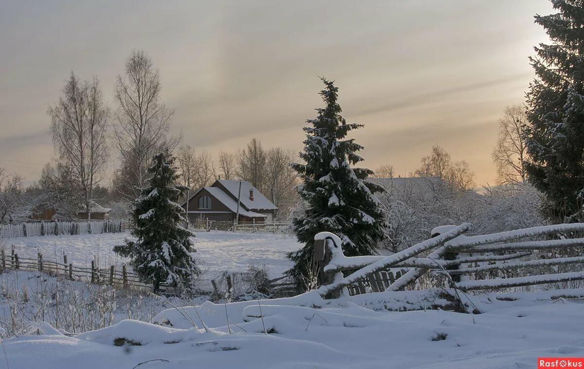 Завораживающие российские пейзажи фото тот период