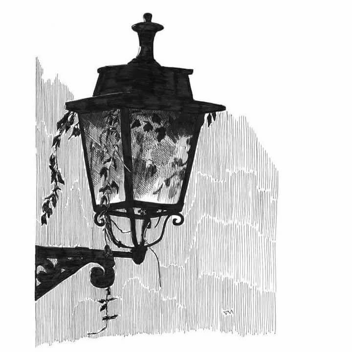 фонари уличные картинки рисунки квартир, акции