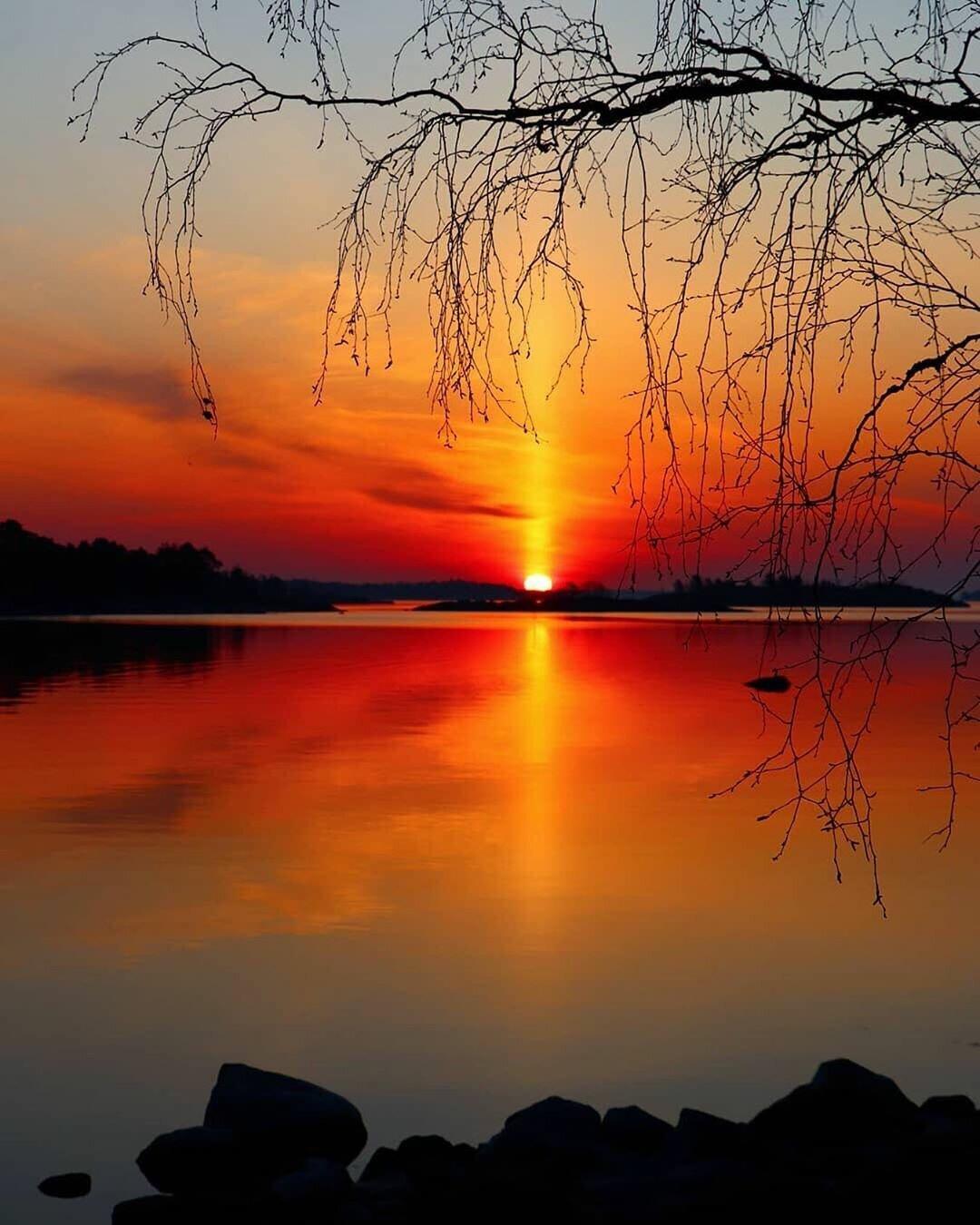 красивый восход закат картинки подобные вопросы