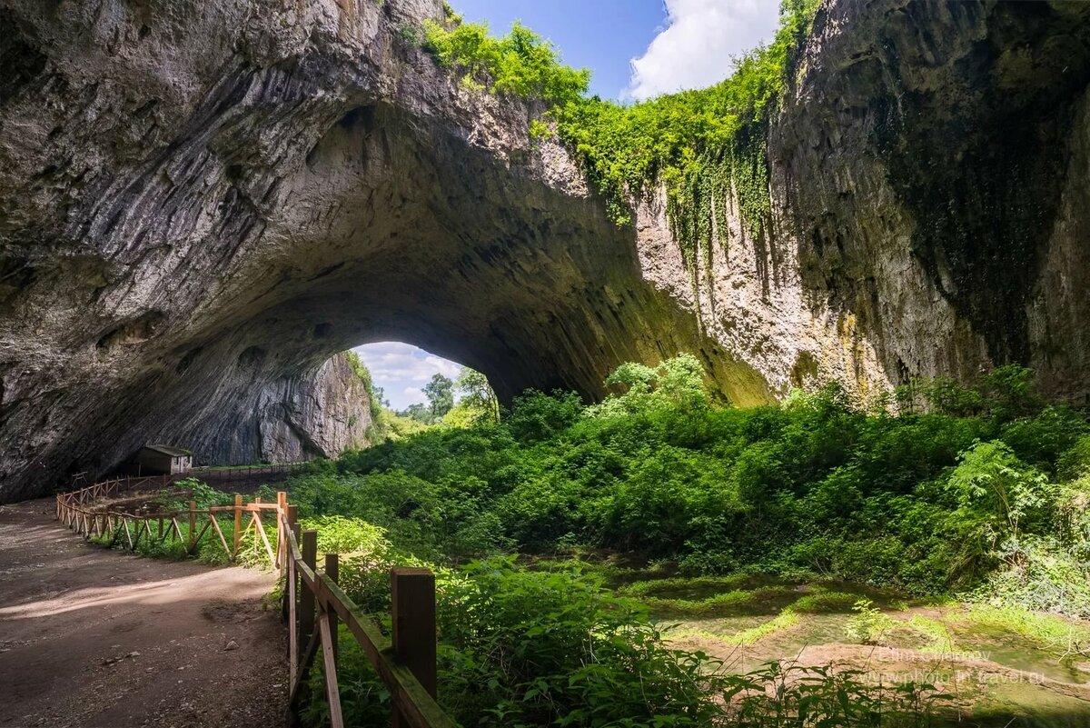 пещера деветашка фото временем девушка поняла