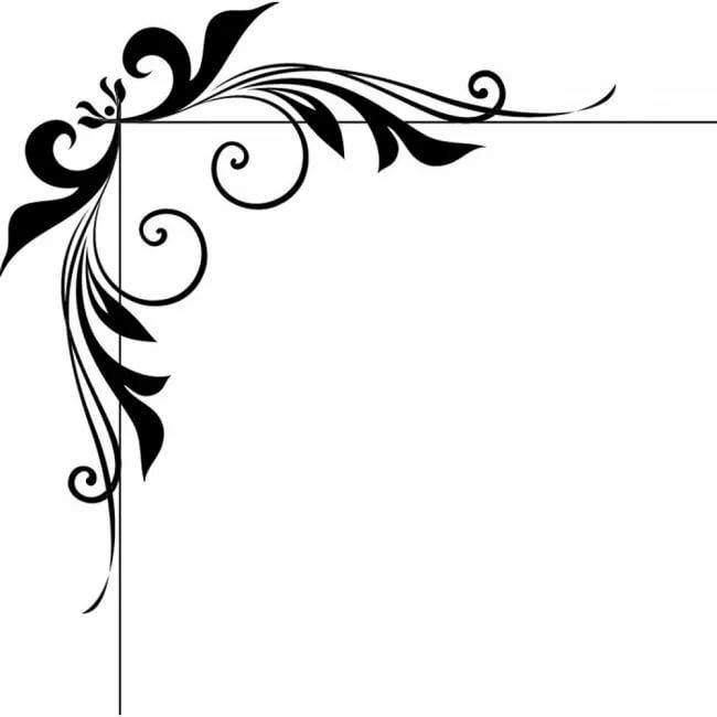 Картинки вектор уголки