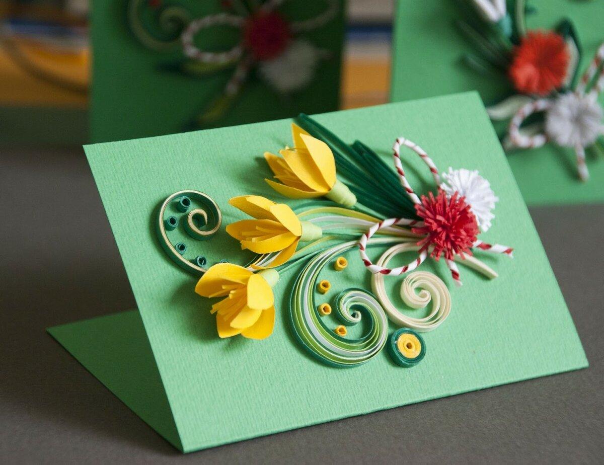 Открытка день матери картинки оригами