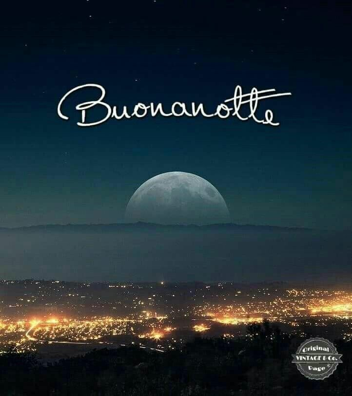 Доброй ночи по-итальянски картинки