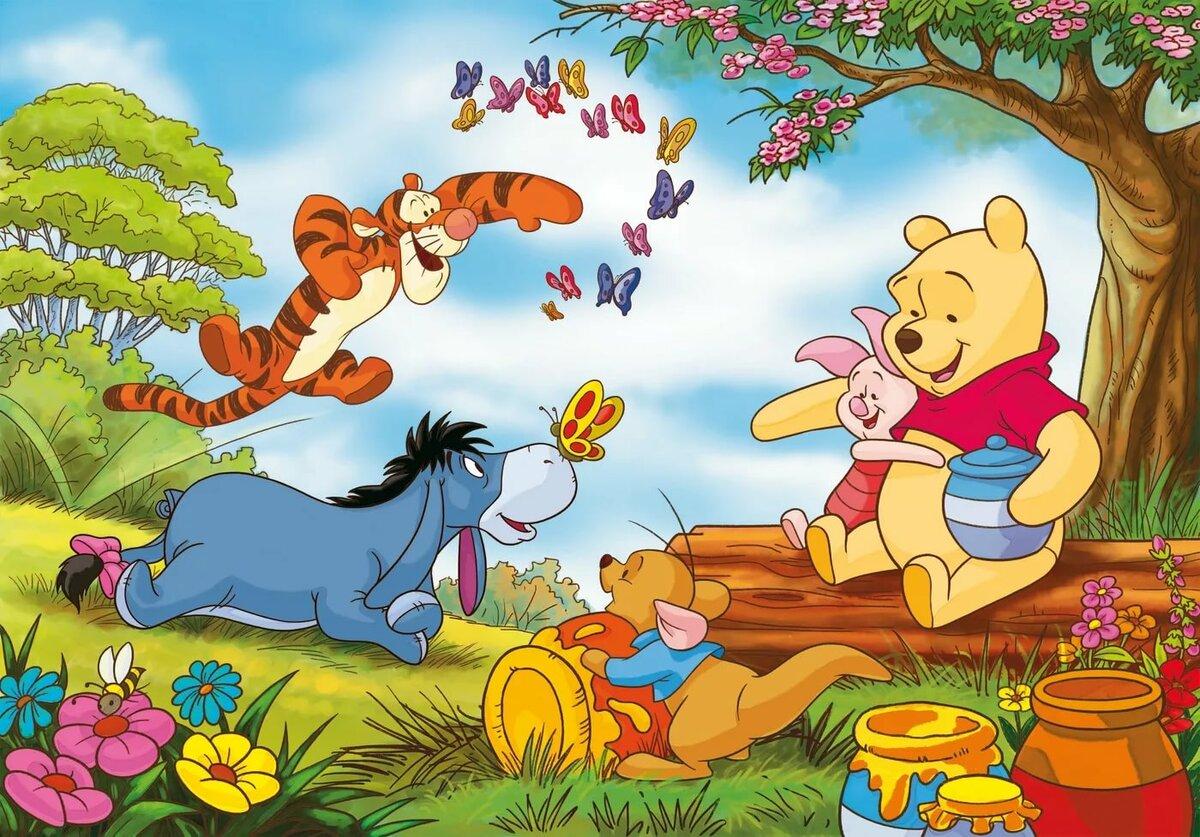 Картинки про дружбу из мультфильмов