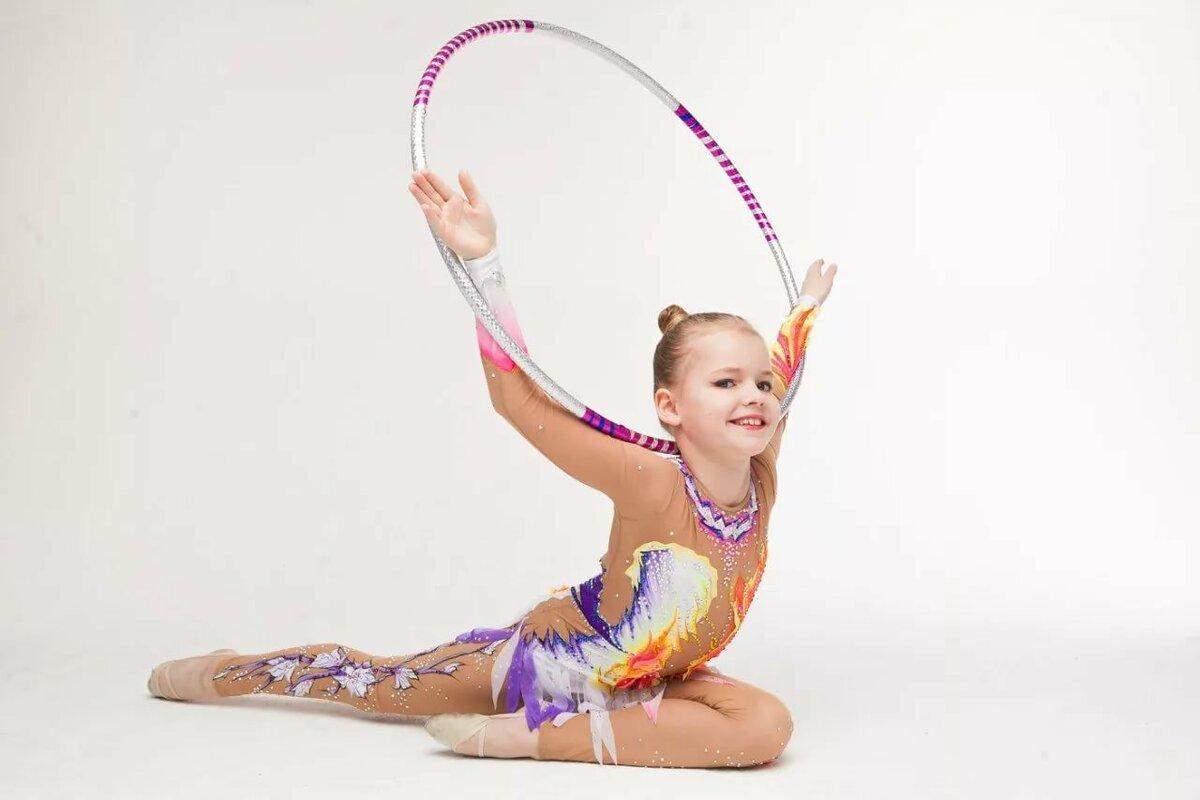 Картинка гимнастка маленькая