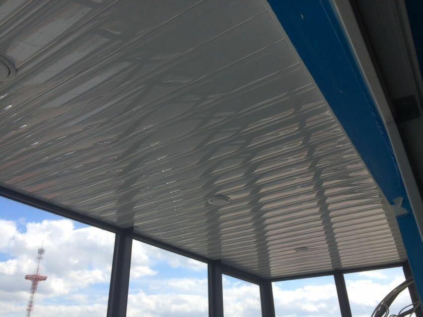 Реечный потолок №81
