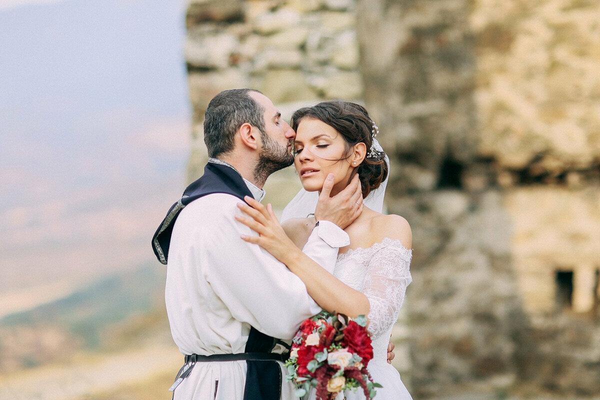 В картинках грузинской свадьбы