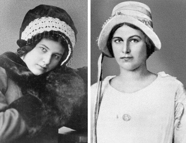 две фотки, фото революционерки рейснер еврейки квартиры оснащаются все