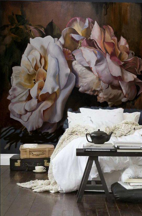 Отличная идея для оформления стены за кроватью