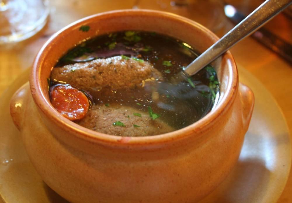 Суп в горшочках в картинках