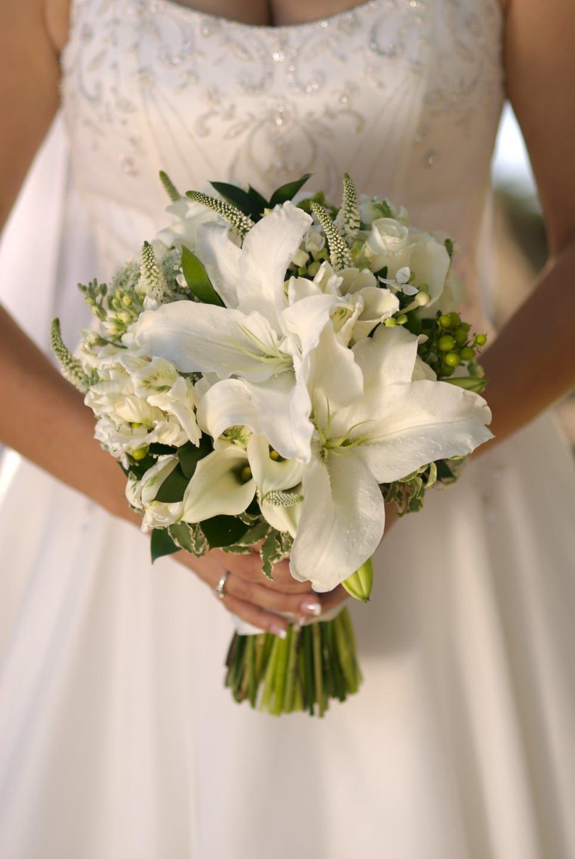 Фэмили хабаровск, лилии букет невесты