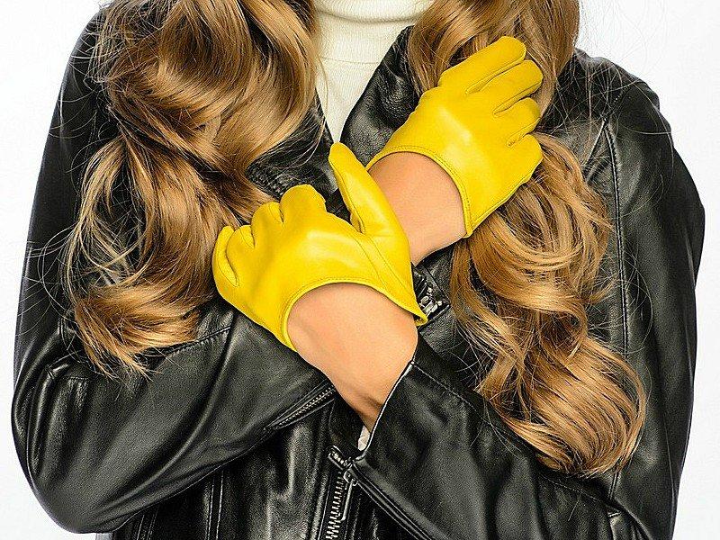 Желтые перчатки