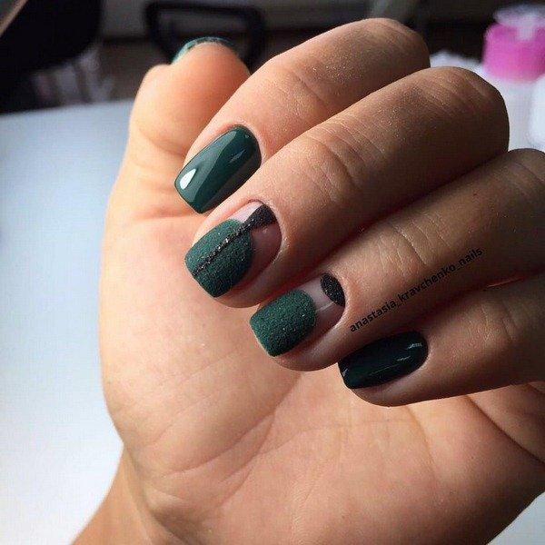 Модные ногти осень-зима новинки тренды 54 32