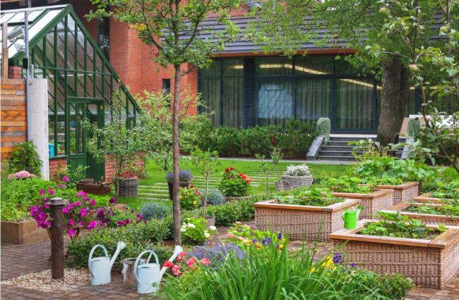 Сочетание красоты и комфорта в обустройстве загородного дома.