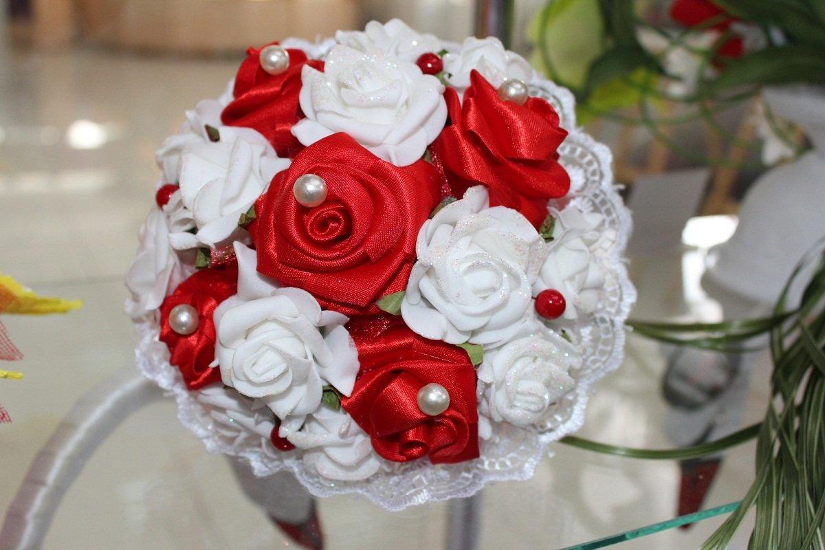 Букеты дублеры на свадьбу из фоамирана, цветы онлайн харьков