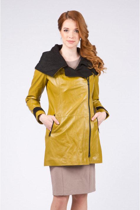 Кожаные пальто женские спб