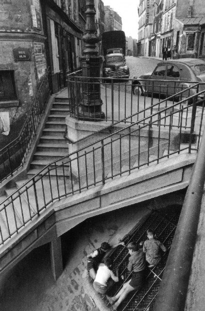 Париж 1959 год. Вилли Ронис(Willy Ronis).