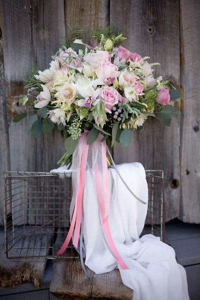 Неповторимый букет для милой невесты