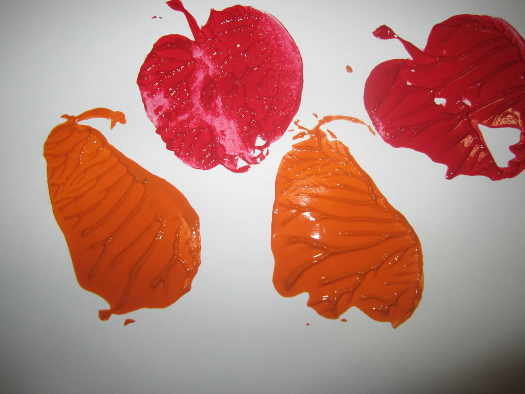 Шугаринга, рисование штампами картинки