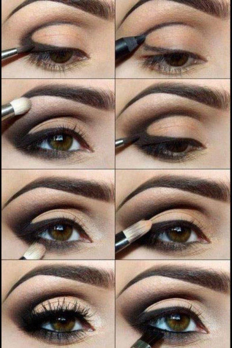 Уроки макияжа Красивый макияж глаз Смоки Айс Вечерний