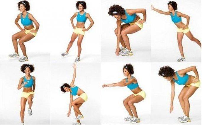 Упражнения чтобы жир ушел со спины