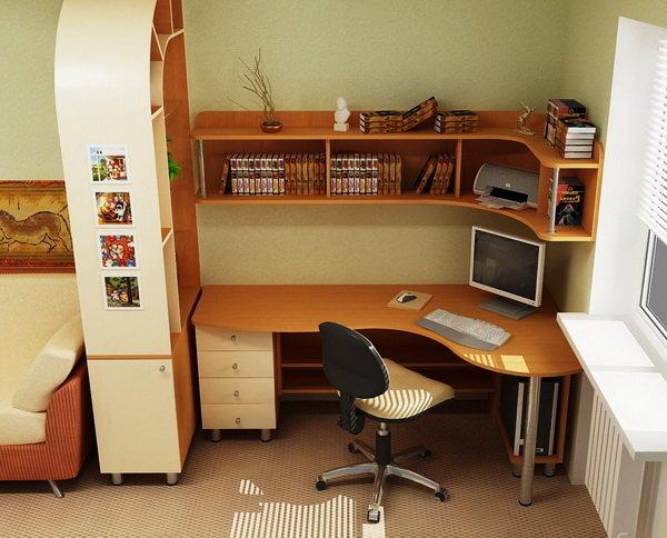 Как правильно организовать рабочую зону в детской? Общие рекомендации и фото.
