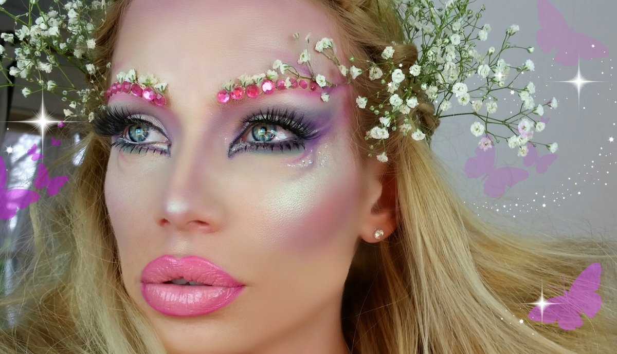 конце макияж феи картинки цвет идет градиентом