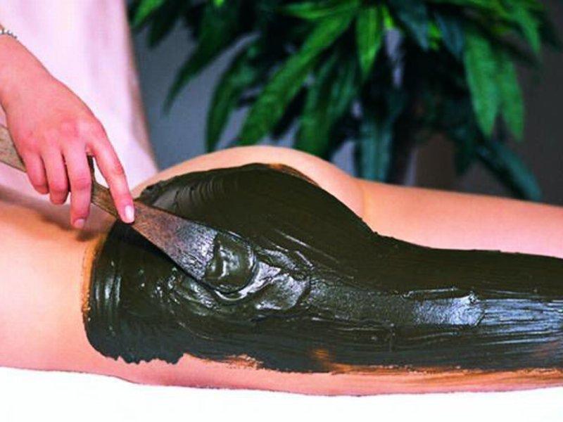 обертывание из голубой глины для похудения