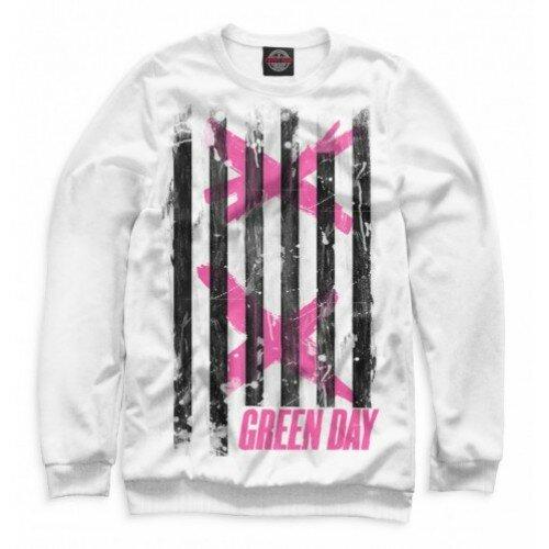 Женский свитшот 3D Green Day