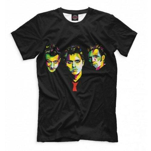 Мужская футболка 3D Green Day