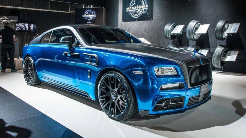 Тюнинг Rolls-Royce Wraith в исполнении Mansory.