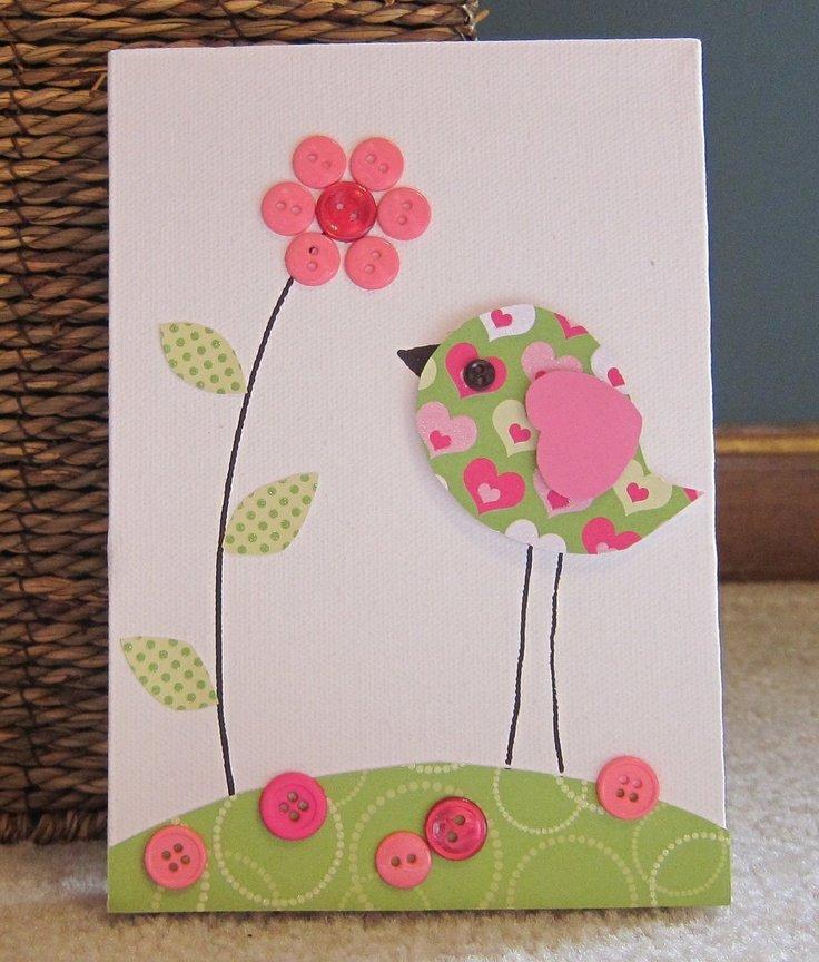 украшения открытки аппликации для малышей жди меня