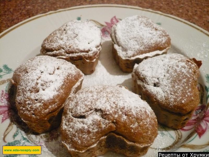 Необыкновенно вкусные и красивые кексы с потрясающим ароматом!