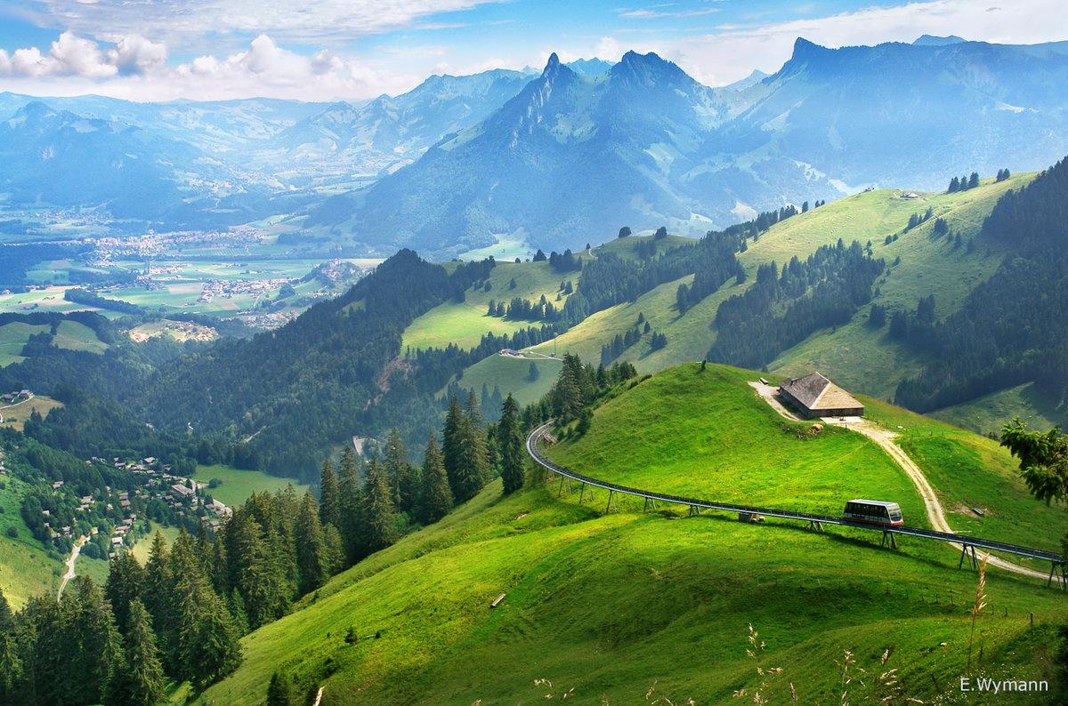 это швейцарские горы картинки является всемирно известной