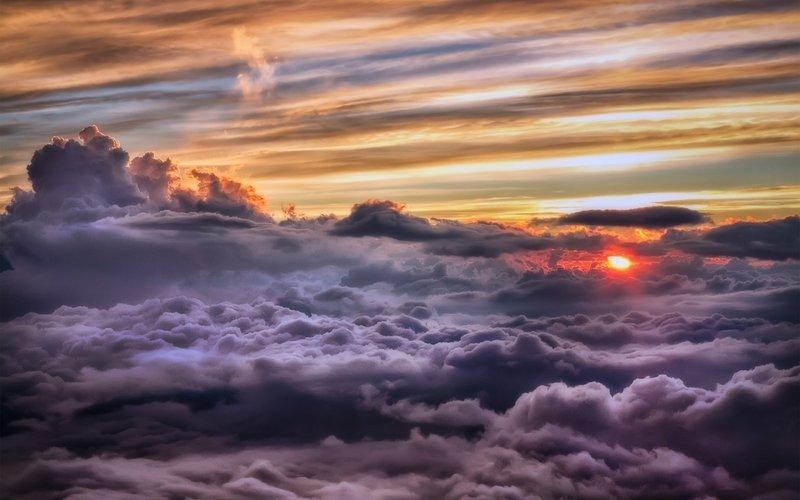обои : Солнечный лучик, закат солнца, море, Размышления, Вос