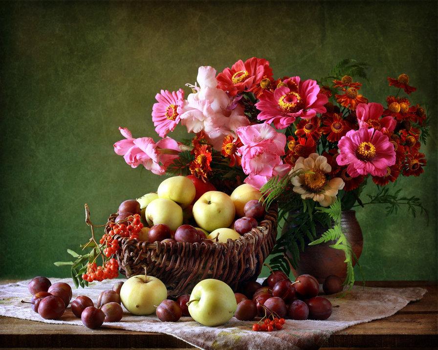 Картинки с цветами и фруктами, прикольные