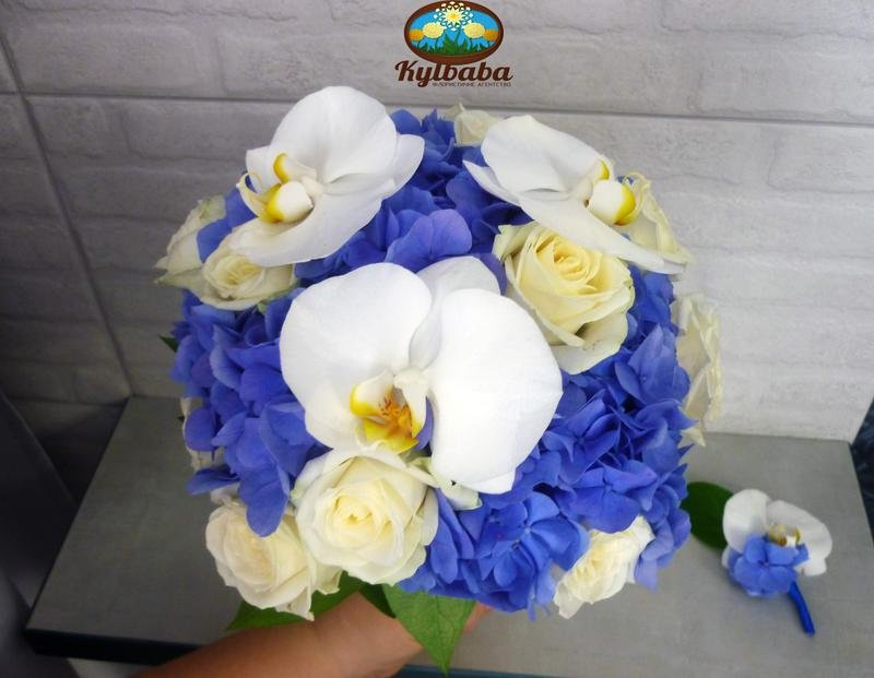 Гортензия с орхидеей свадебный букет цена, цветов детские рисунки
